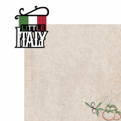 Little Italy 2 Piece Laser Die Cut Kit