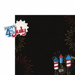 Live Free: 4th of July 2 Piece Laser Die Cut Kit