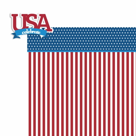 Live Free: USA 2 Piece Laser Die Cut Kit