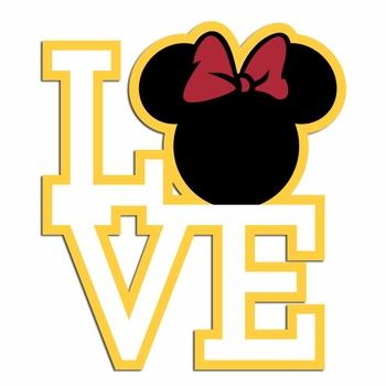 Love Mouse Style: Minnie Laser Die Cut