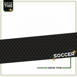 Love Sports: Soccer 12 x 12 Paper