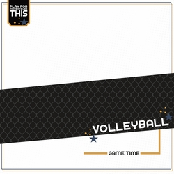 Love Sports: Volleyball 12 x 12 Paper