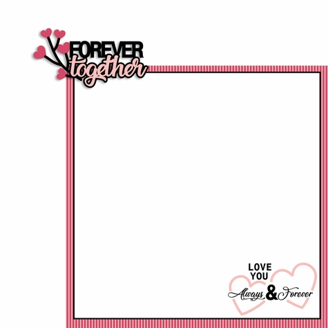 Lovestruck: Forever Together 2 Piece Laser Die Cut Kit
