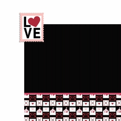 Lovestruck: Love Stamp 2 Piece Laser Die Cut Kit