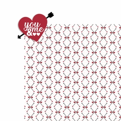 Lovestruck: You and Me 2 Piece Laser Die Cut Kit