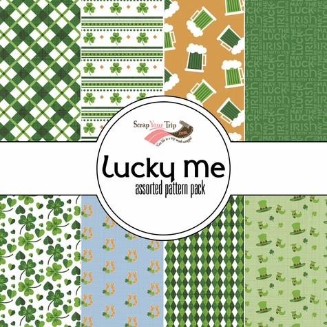 Lucky Me 12 x 12 Paper Pack