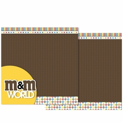 M and M Double Page Layout Kit
