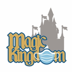 Magic Kingdom Mask Laser Die Cut