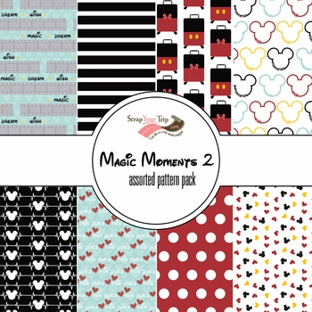 Magic Moments 2 Assorted 12 x 12 Paper Pack
