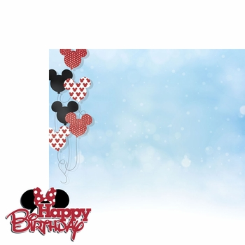 Magic Moments: Minnie Birthday 2 Piece Laser Die Cut Kit