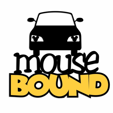Magic Moments: Mouse Bound car Laser Die Cut