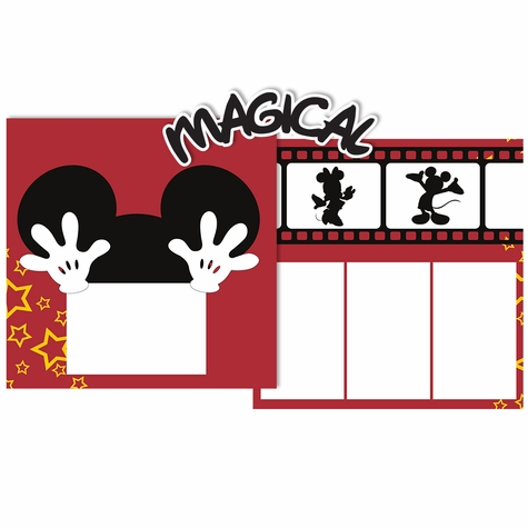 Magical Double Page Layout Kit