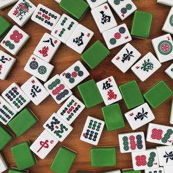 Mahjong Night 12 x 12 Paper