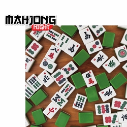 Mahjong Night 2 Piece Laser Die Cut Kit