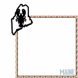 Maine 2 Piece Laser Die Cut Kit