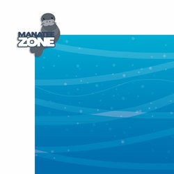Manatee Zone 2 Piece Laser Die Cut Kit