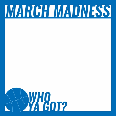 March Madness: March Madness 12 x 12 Overlay Laser Die Cut