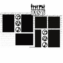 Marching Band 2 Page Layout Kit