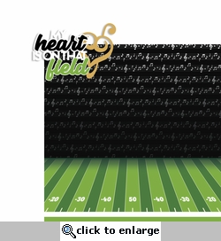 Marching Band: Heart on that Field 2 Piece Laser Die Cut Kit