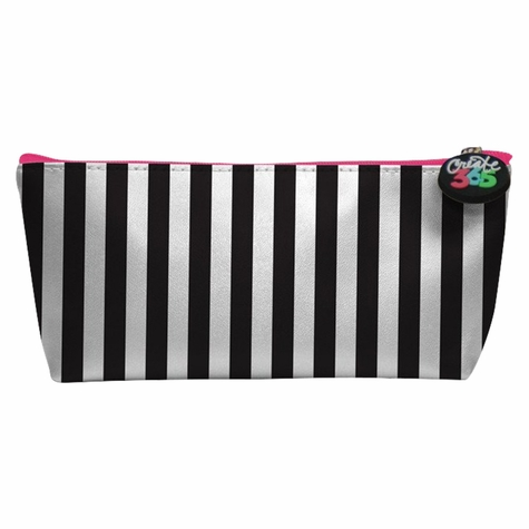 Me & My Big Ideas: B&W + Pink Pencil Pouch