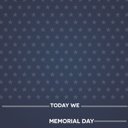 Memorial Day: Honor and Remember 12 x 12 Paper
