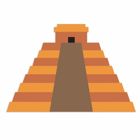 Mexico: Chichen Itza Laser Die Cut