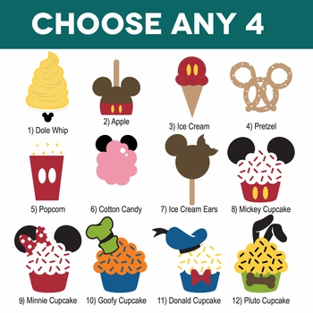 Mickey Heads: Snack Pack Mouse Head Laser Die Cuts