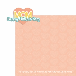 Mother's Day: Happy Mother's Day 2 Piece Laser Die Cut Kit