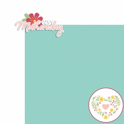 Mother's Day: Mother's Day 2 Piece Laser Die Cut Kit