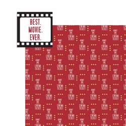Movies: Best Movie Ever 2 Piece Laser Die Cut Kit