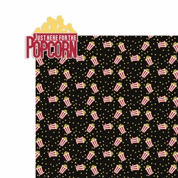 Movies: Just here for the Popcorn 2 Piece Laser Die Cut Kit