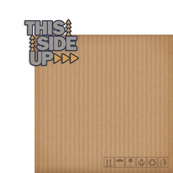 Moving: This Side Up 2 Piece Laser Die Cut Kit