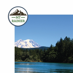 Mt. Rainier 2 Piece Laser Die Cut Kit