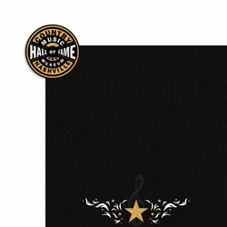Nashville: Country Music Hall of Fame 2 Piece Laser Die Cut Kit