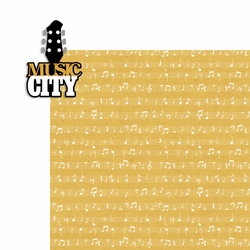 Nashville: Music City 2 Piece Laser Die Cut Kit
