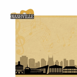 Nashville: Nashville 2 Piece Laser Die Cut Kit