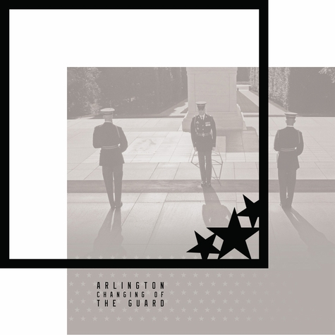 Nation's Capital: Changing Of The Guard 12 x 12 Overlay Quick Page Laser Die Cut