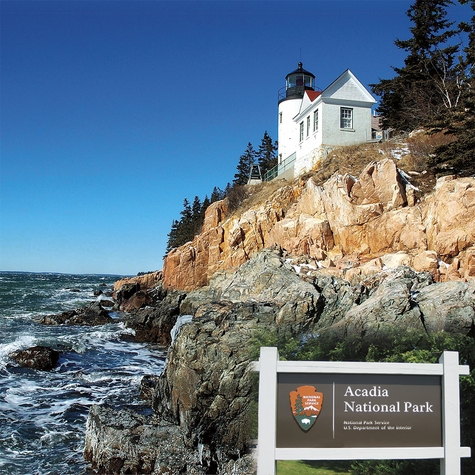 National Parks: Acadia 12x12 Paper