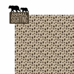 National Parks: Animal Sighting 2 Piece Laser Die Cut Kit