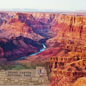 National Parks: Grand Canyon 12x12 Paper