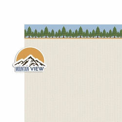 National Parks: Mountain View 2 Piece Laser Die Cut Kit