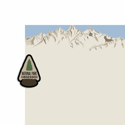 National Parks: NP Obsessed 2 Piece Laser Die Cut Kit