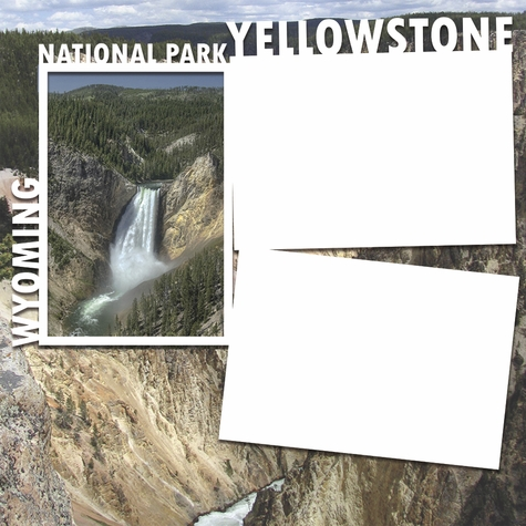 National Parks: Yellowstone Panorama