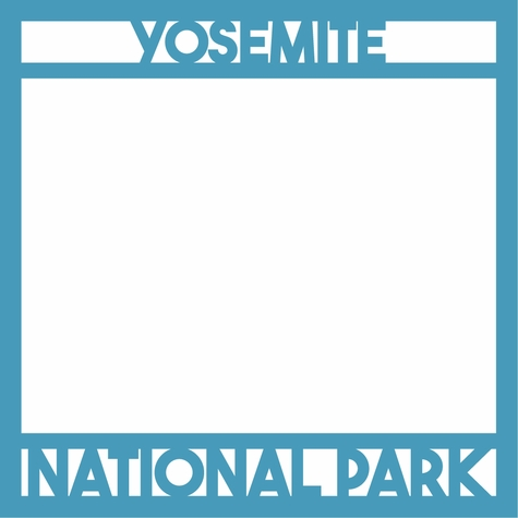 National Parks: Yosemite 12 x 12 Overlay Laser Die Cut