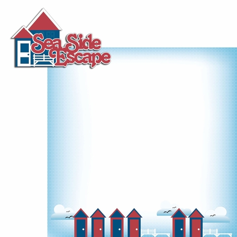 2SYT 96 Nautical: Seaside Escape 2 Piece Laser Die Cut Kit