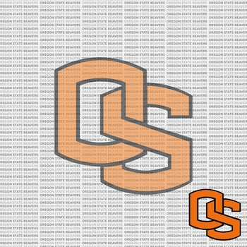 NCAA Fanatic: Oregon State University 12 x 12 Paper