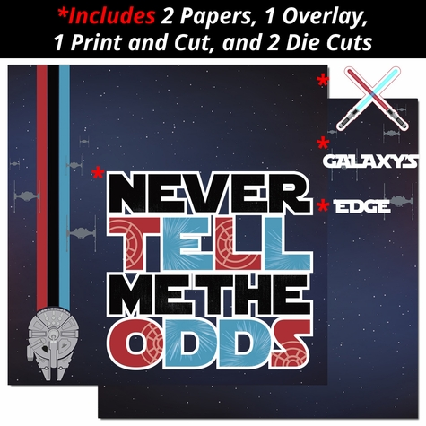Never Tell Me The Odds 2 Page Print and Cut