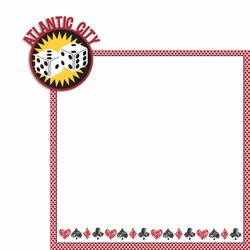 New Jersey: Atlantic City 2 Piece Laser Die Cut Kit