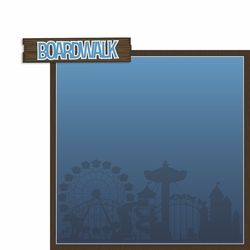 New Jersey: Boardwalk 2 Piece Laser Die Cut Kit