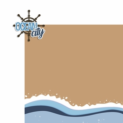 New Jersey: Ocean City 2 Piece Laser Die Cut Kit